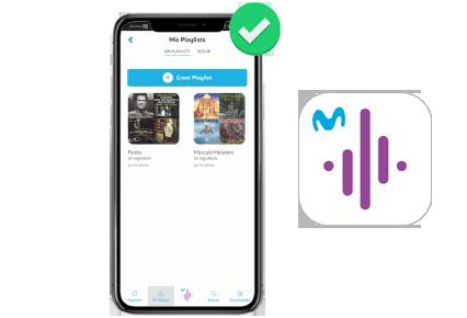 a218390ed54 Puedes ir inmediatamente a la aplicación y escuchar tu Playlist